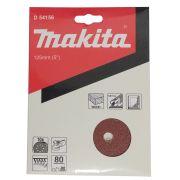 DISCOS DE LIXA 125MM GRAO 80 C/10 D-54156 MAKITA