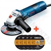 Esmerilhadeira Angular 4 1/2  Bosch Gws 7-115 - 06013940D0