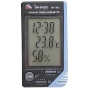Relogio Termo-Higrometro Profissional Minipa - MT-242