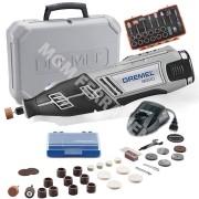 Retífica Dremel 8220 À Bateria 12v Com 30 Acessórios + Brinde - F0138220AD
