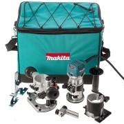 TUPIA MANUAL COM 3 BASES 6MM 710W RT0700CX2 - MAKITA