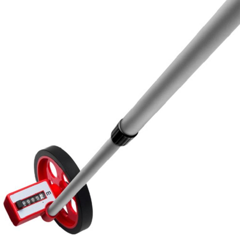 Medidor de distancia manual com roda 9999 9 metros - Medidor de distancia ...