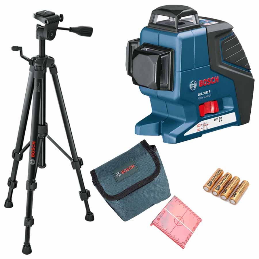 Nivel laser de linha profissional bosch gll 3 80p - Nivel laser bosch ...
