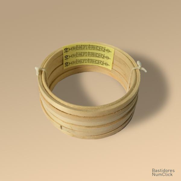 Bastidor tipo A 10 cm de  diâmetro (6 unidades)