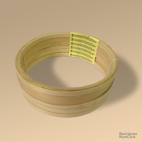 Bastidor tipo A 16 cm de  diâmetro (6 unidades)