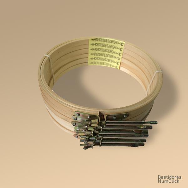 Bastidor tipo AT 16 cm de diâmetro (6 unidades)