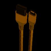 Cabo Lightning MFI Nylon Reforçado 1,5MT Golden - LIGH09G - Geonav