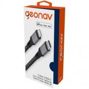 CABO USB-C COM CONECTOR LIGHTNING - LIUC01 - GEONAV