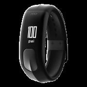 Relógio Inteligente c/Monitor de frequência cardíaca + atividade Mio Slice PRETO