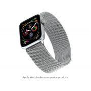 Pulseira Apple Watch Milanese Geonav 42/44mm - Prata