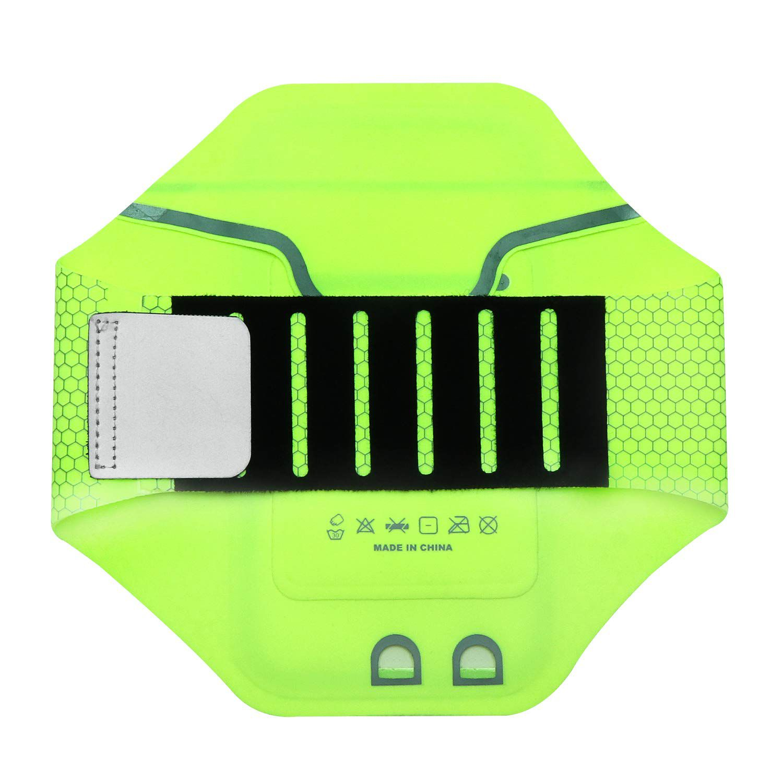 Braçadeira Esportiva para Atividades Físicas Green - FIT02SDGN - Geonav