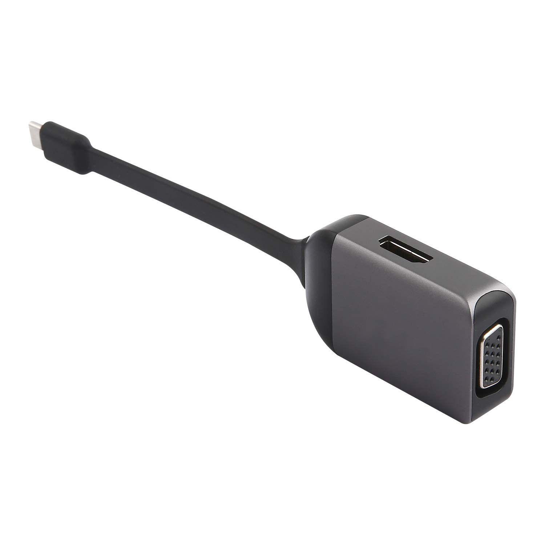 Cabo Adaptador USB-C para VGA e HDMI - UCA09 - Geonav