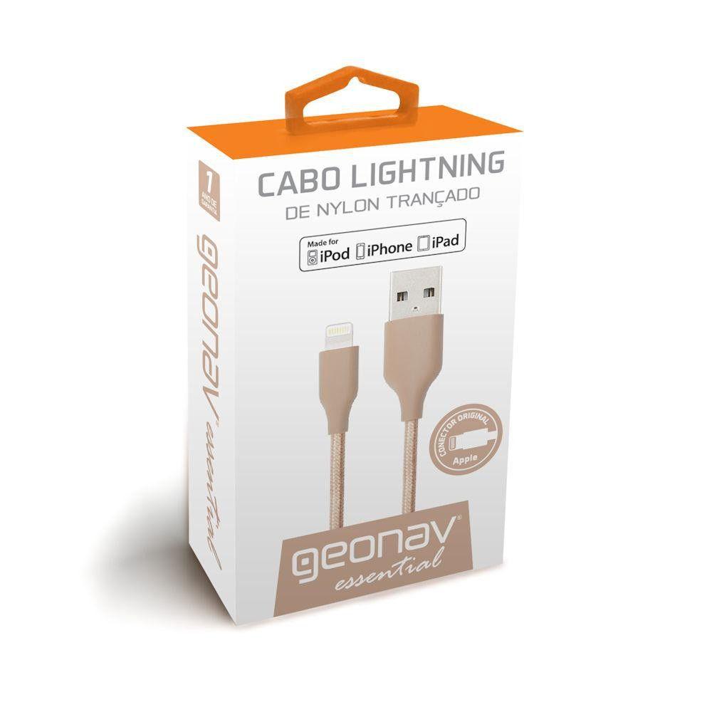 Cabo Lightning Rose Gold 1M Essential - ESLIRG - Geonav