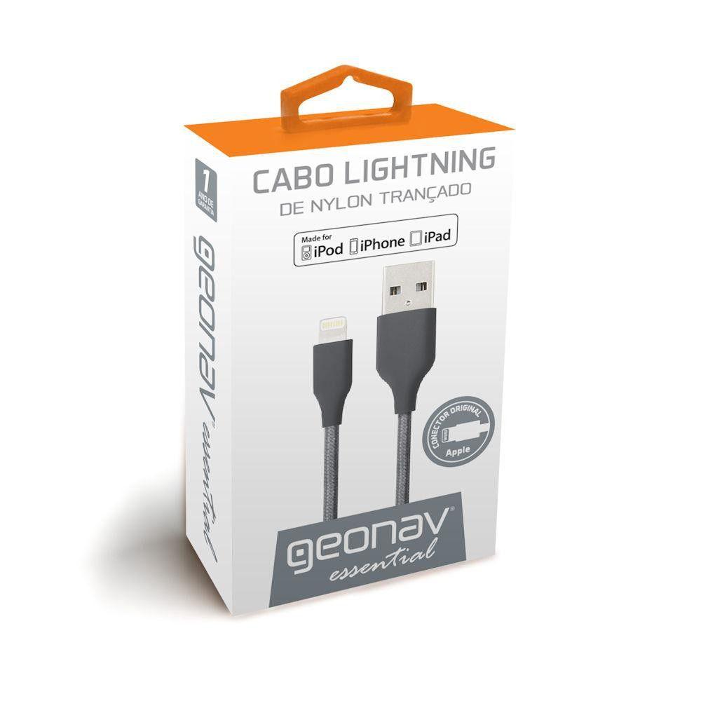 Cabo Lightning Space Gray 1M Essential - ESLISG - Geonav
