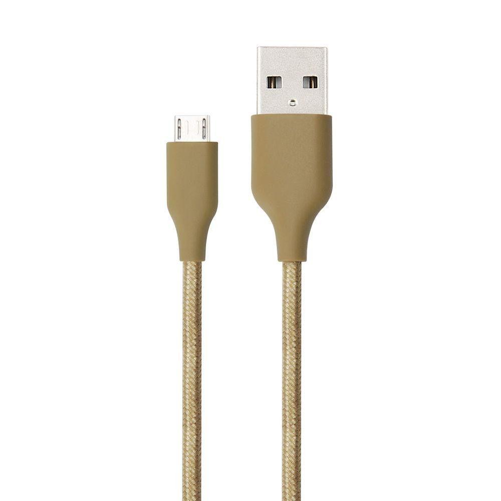 Cabo Micro USB Gold 1M Essential - ESMIGO - Geonav