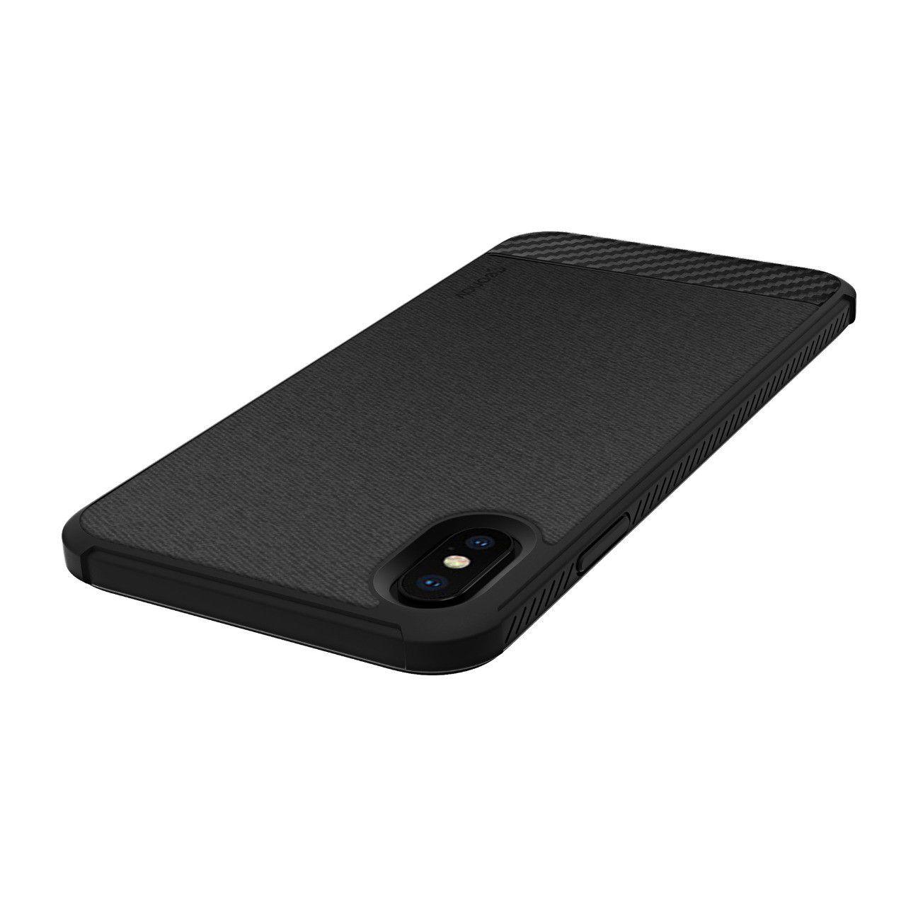 Capa Carbon X Compatível com iPhone XS MAX Black - IPSXMB - Geonav