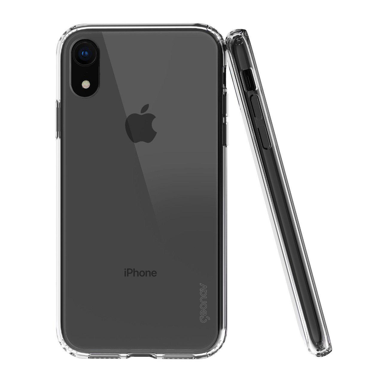 Capa Clear View para iPhone XR Transparente - CLIXR - Geonav