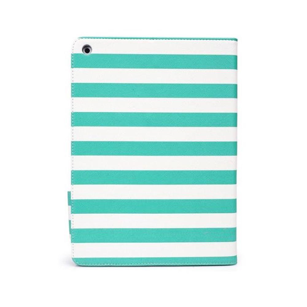 Capa Fólio Slim IPad Air Stripes Green - Geonav