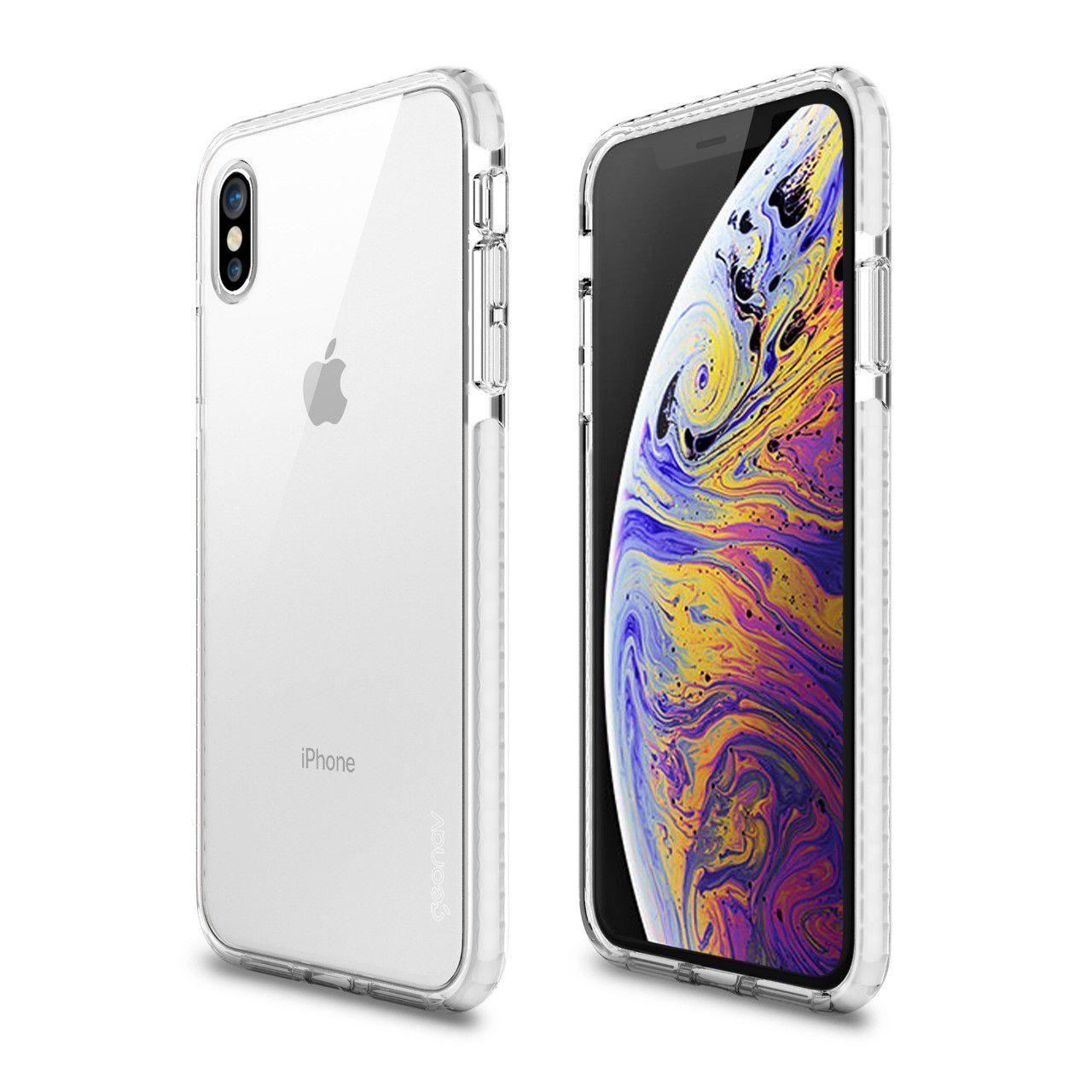 Capa Impact PRO X para Iphone XS MAX White - IPIXMW - Geonav