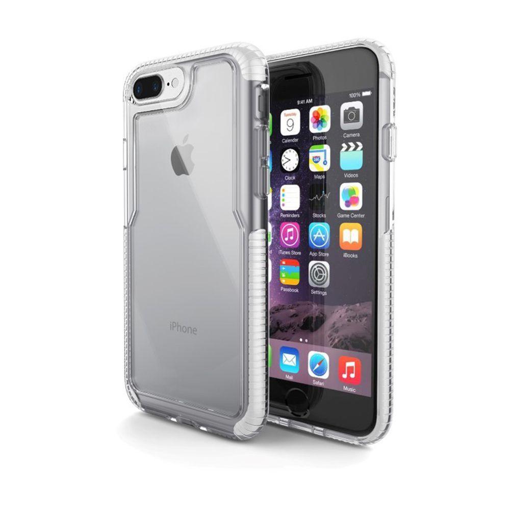 Capa Iphone 7 Plus / 8 Plus Impact PRO Branca - IPI7PW - Geonav