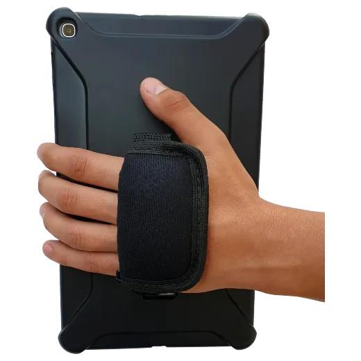 Capa Robusta c/ Conforto de Mão e Alça Transversal p/ Tab A 10.1'' (T510/T515) – Tupi Capas