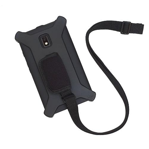 Capa Robusta c/ Conforto de Mão e Alça Transversal p/ Tab Active2 (T395) – Tupi Capas - Com Alça