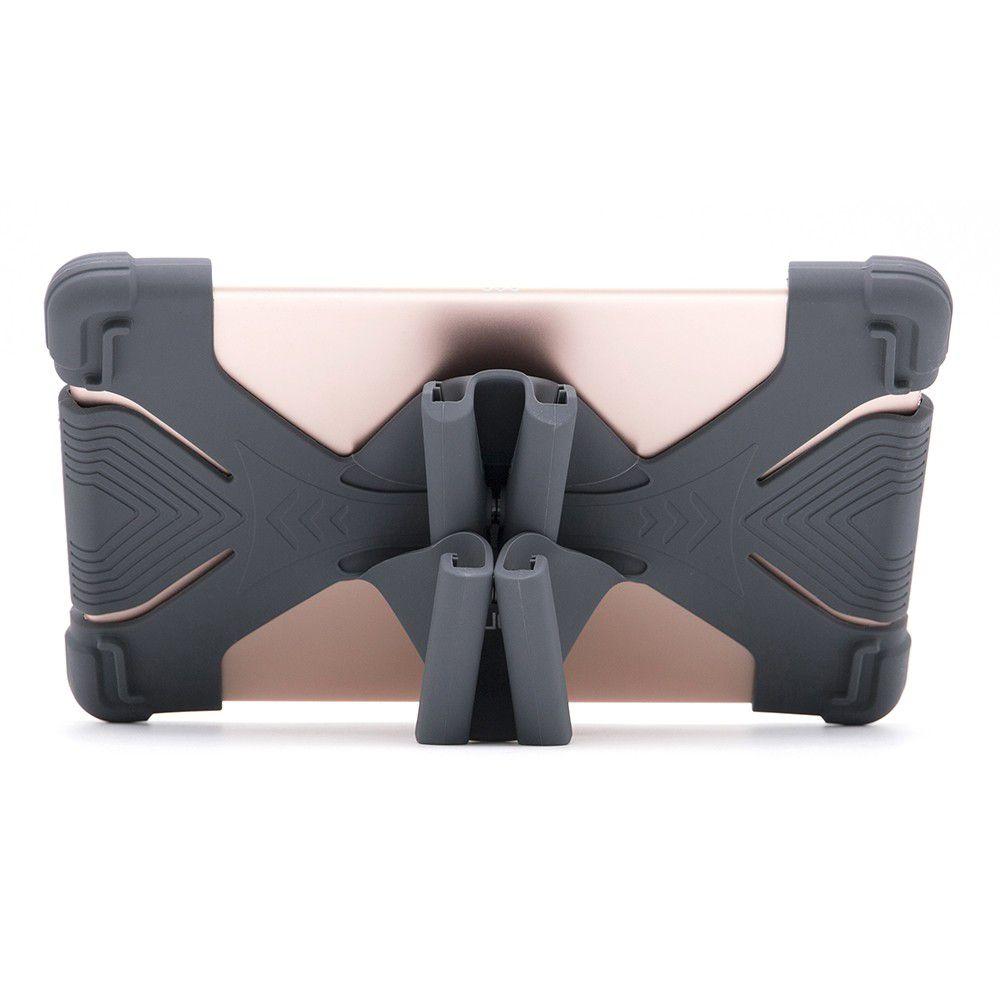 """Capa Universal de Silicone para Tablet 9""""-12"""" Preto - Geonav"""