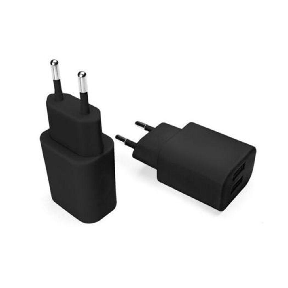 Carregador de Parede 2 X USB 2.1 A Preto Essential - Geonav