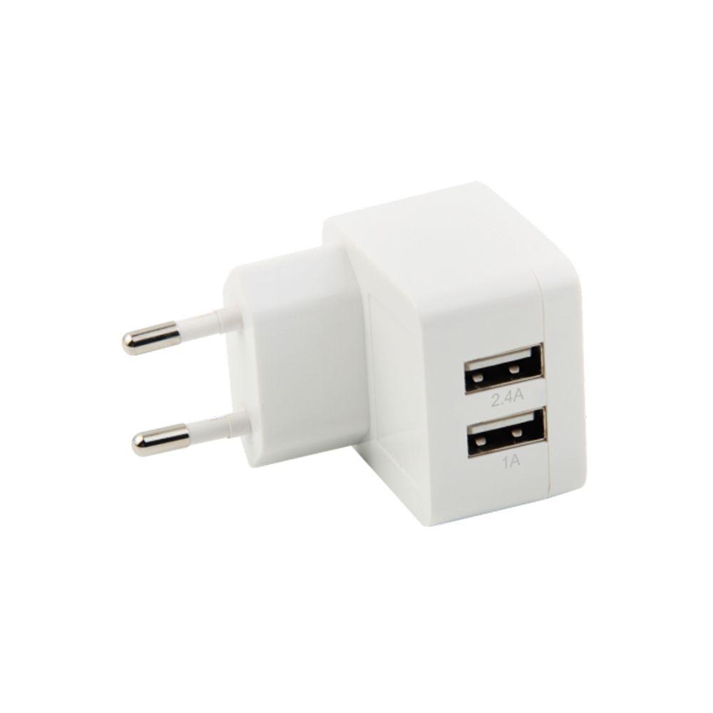 Carregador de Parede Universal USB Dupla Saída 3.4A - Geonav