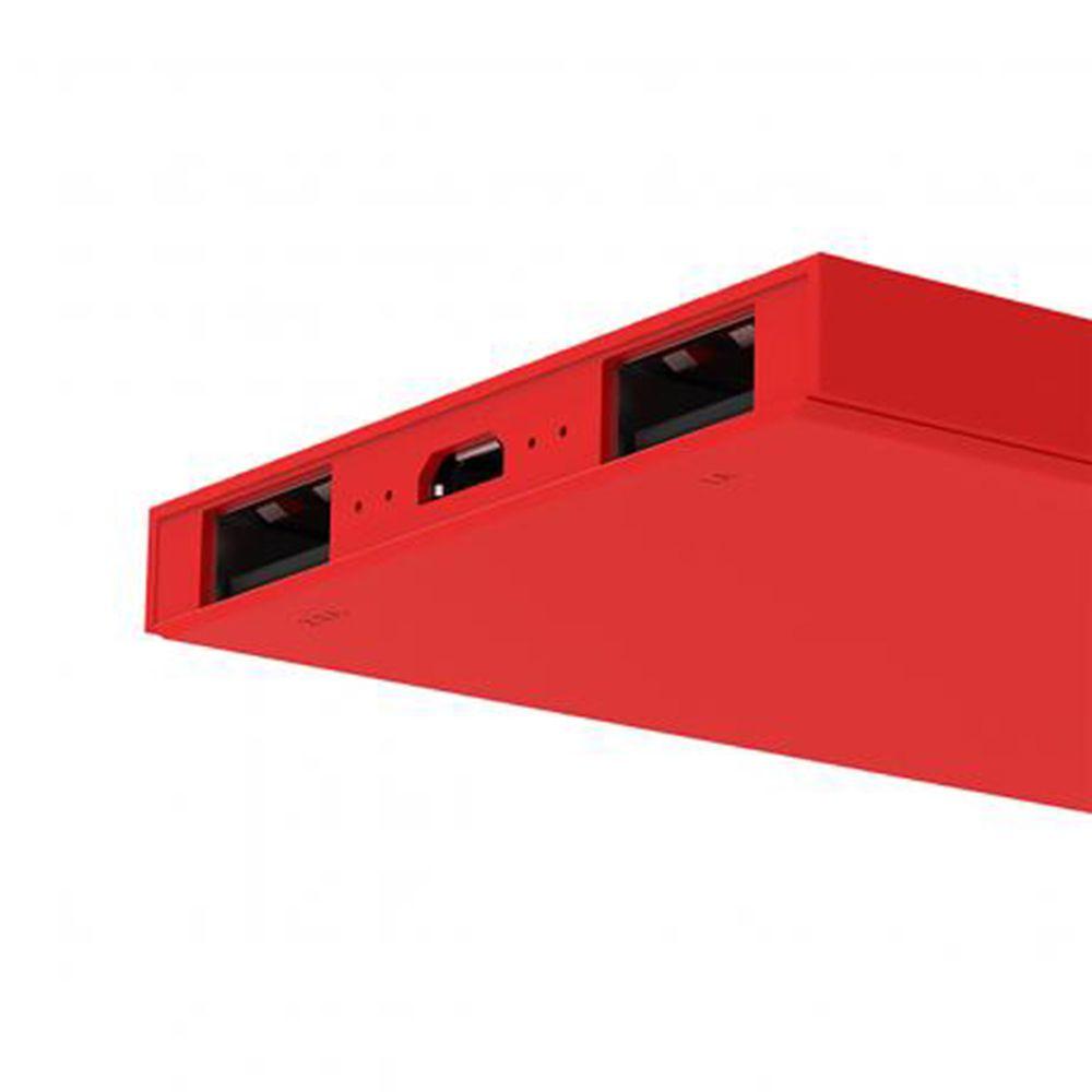 Carregador Portátil universal 6200mAh Vermelho - Geonav