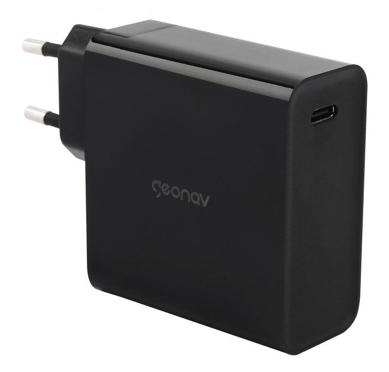 Carregador Universal Inteligente 65W  Cabo USB-C PARA USB-C - CH65WPDBK - PRETO