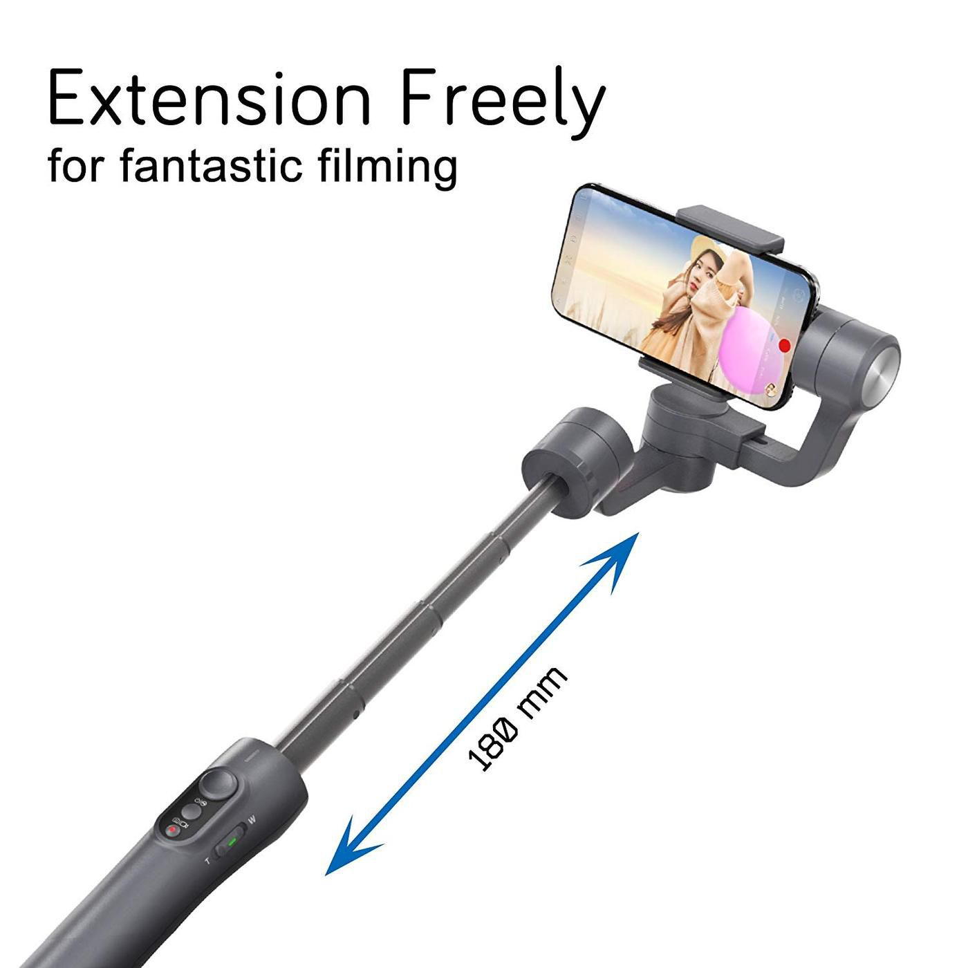 Estabilizador Eletrônico de Imagem e Vídeo Modelo Vimble 2 - Feiyutech