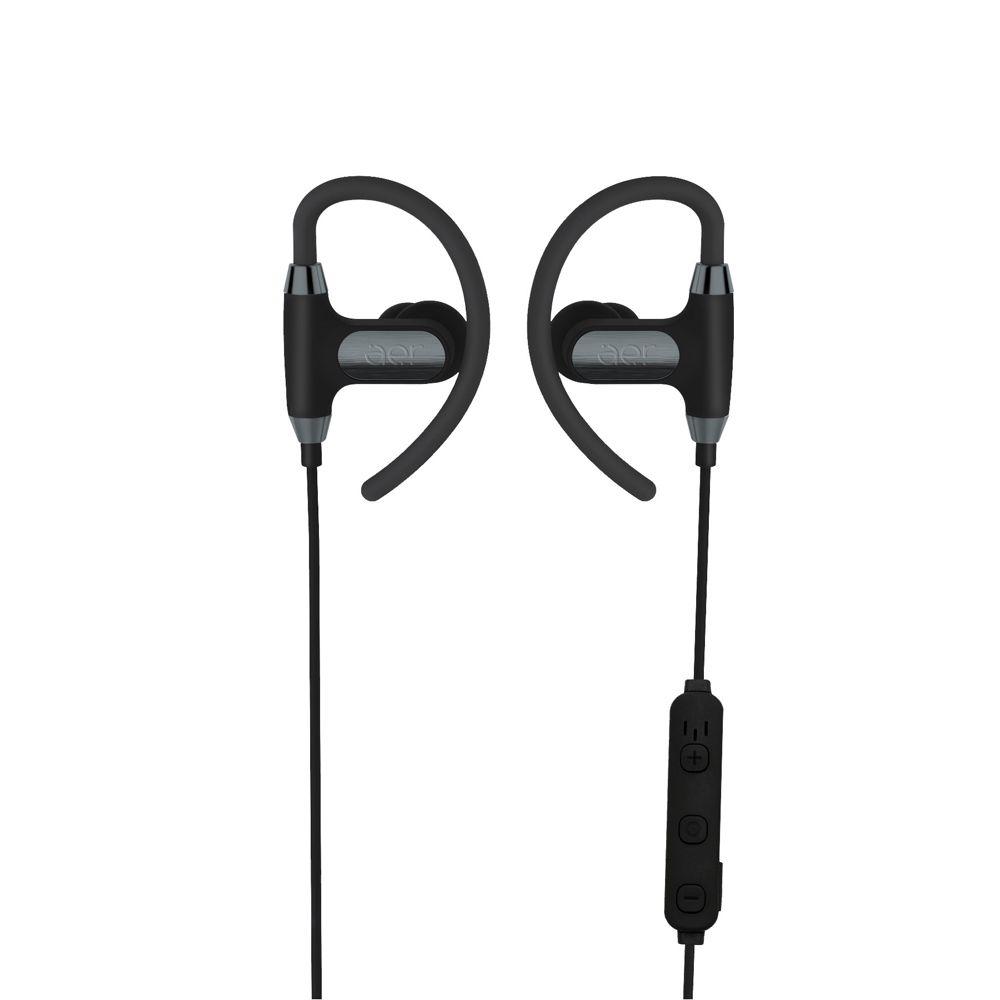 Fones de Ouvido Bluetooth Esportivo Aersports Cinza Espacial - Aer