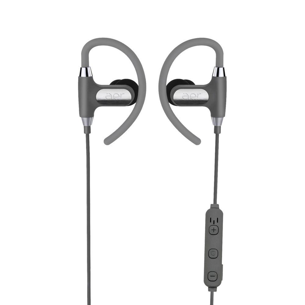 Fones de Ouvido Bluetooth Esportivo Aersports Prata - Aer