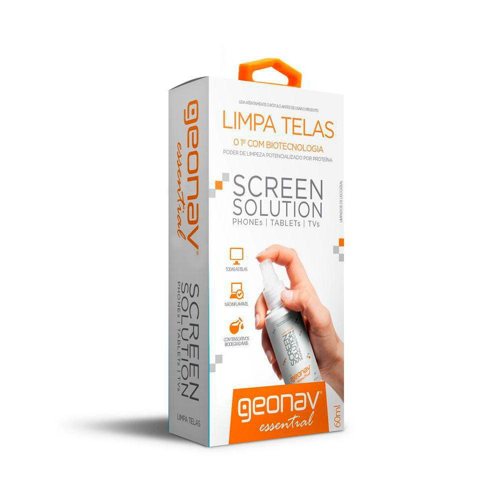 Limpa Telas Screen Solution 60 ML - Geonav