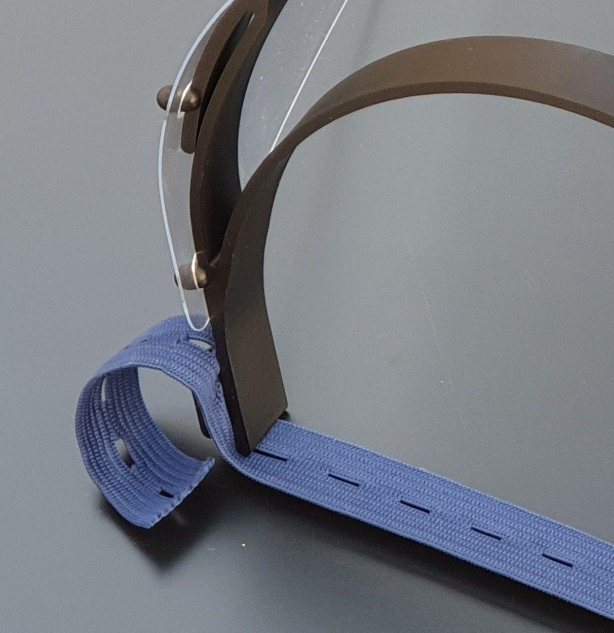 Máscara para Proteção Facial Shield - KIT C/50 Unidades - Tupi Capas