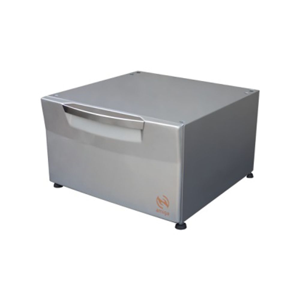 Pedestal Cor Prata Compatível com Lava e Seca Samsung de 10,2 Kg  - Amiga