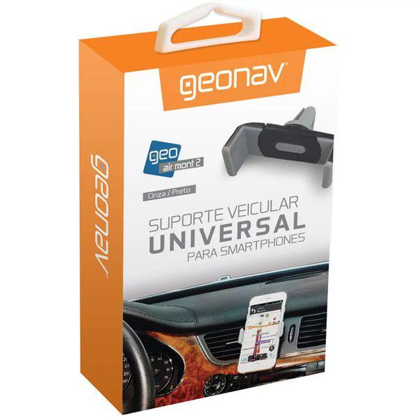 Suporte Veicular Universal para Smartphones Preto - Geonav