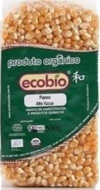 Pipoca de Milho Amarelo 500g - Ecobio