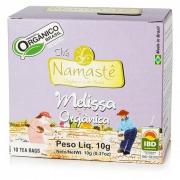 Chá de Melissa Orgânico NAMASTÊ - 10 Sachets