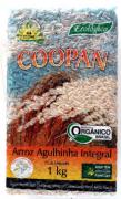 ARROZ AGULHINHA INTEGRAL COOPAN - 1KG