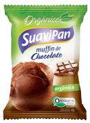 Muffin Orgânico Chocolate 40g Suavipan