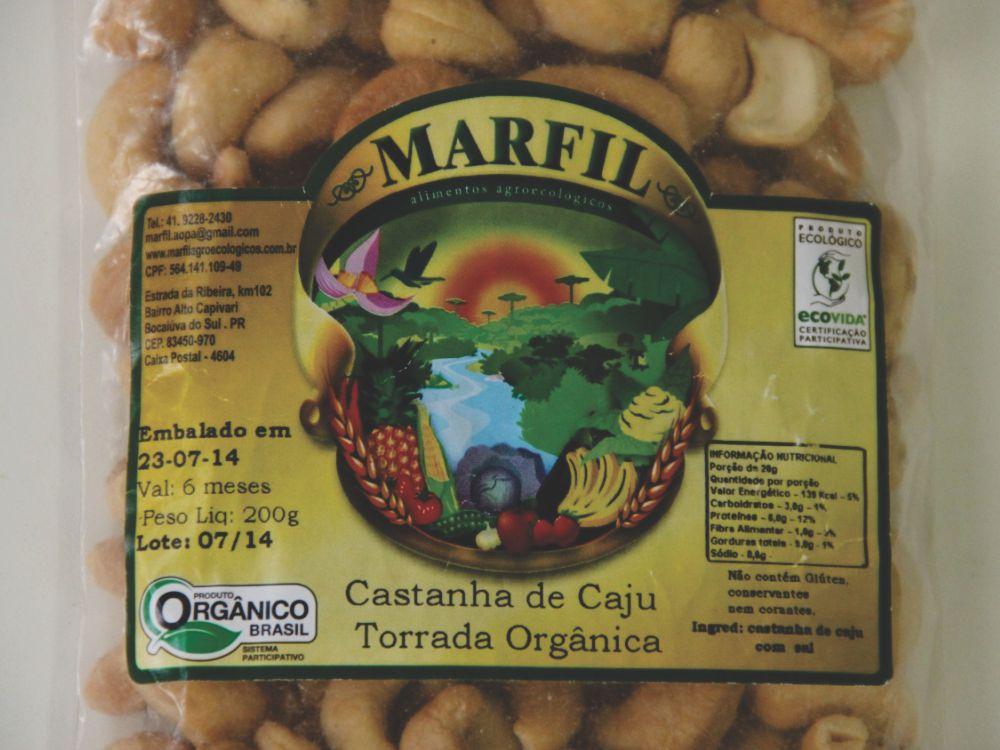 CASTANHA DE CAJU ORGÂNICA 120G - ECONATIVA