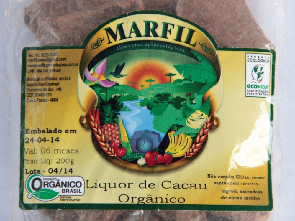 Liquor de Cacau (Cacau em Barra) 200g