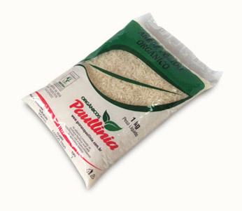 Arroz Polido Orgânico Paullinia 1kg