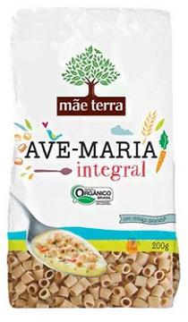 Massa Integral Orgânica Ave Maria | Mãe Terra 200g