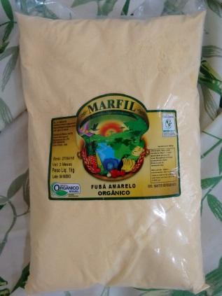 FUBA DE MILHO AMARELO 1 KG - MARFIL