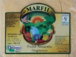 FUBA DE MILHO CRIOLO AMARELO - 1KG -  ESCOLA MILTON SANTOS