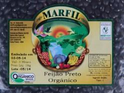 Feijão Preto Orgânico Marfil- 1Kg