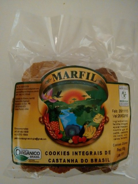 Cookies de Castanha do Pará- 100g